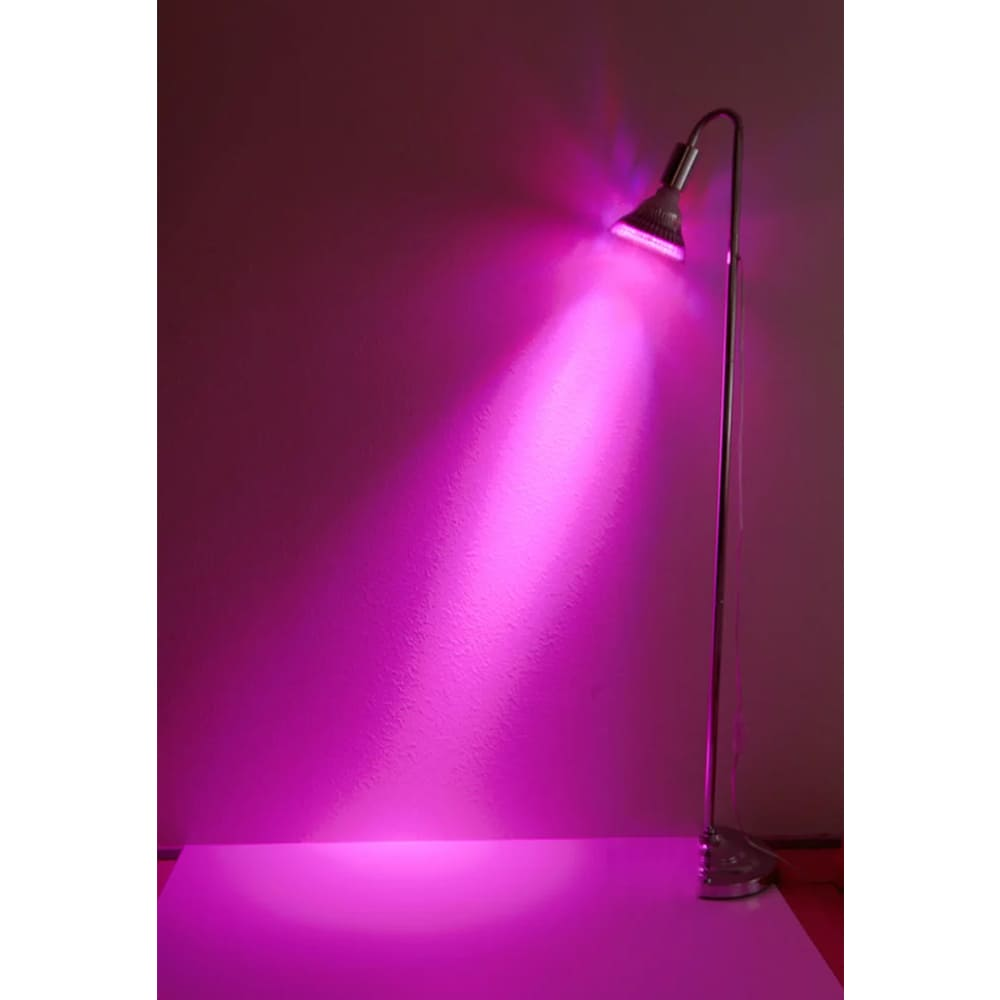 植物育成LED OPT-18W 紫色電球 口径E26(PlantLight18W)観葉植物 植物栽培ライト