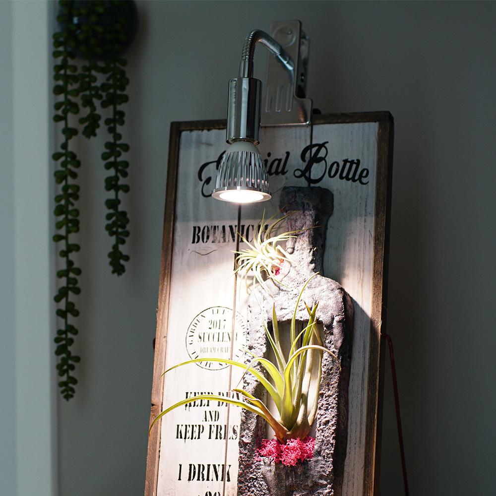 E17 PLANT CLIP-B 電球なし LED 学習机 勉強机 ライト 照明 LEDライト 電気スタンド 学習用 デスクスタンド テーブルスタンド led デスクライト クリップ デスクライト おしゃれ テーブルライト クランプ デスク 卓上 小型 読書灯 寝室