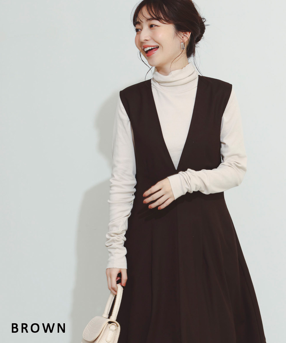 フレアジャンパースカート【宅配便】【BO2021AW】