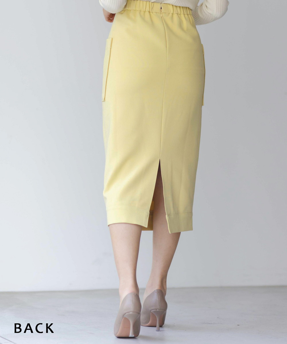 ビッグポケットタイトスカート【宅配便】【BO2021SS】