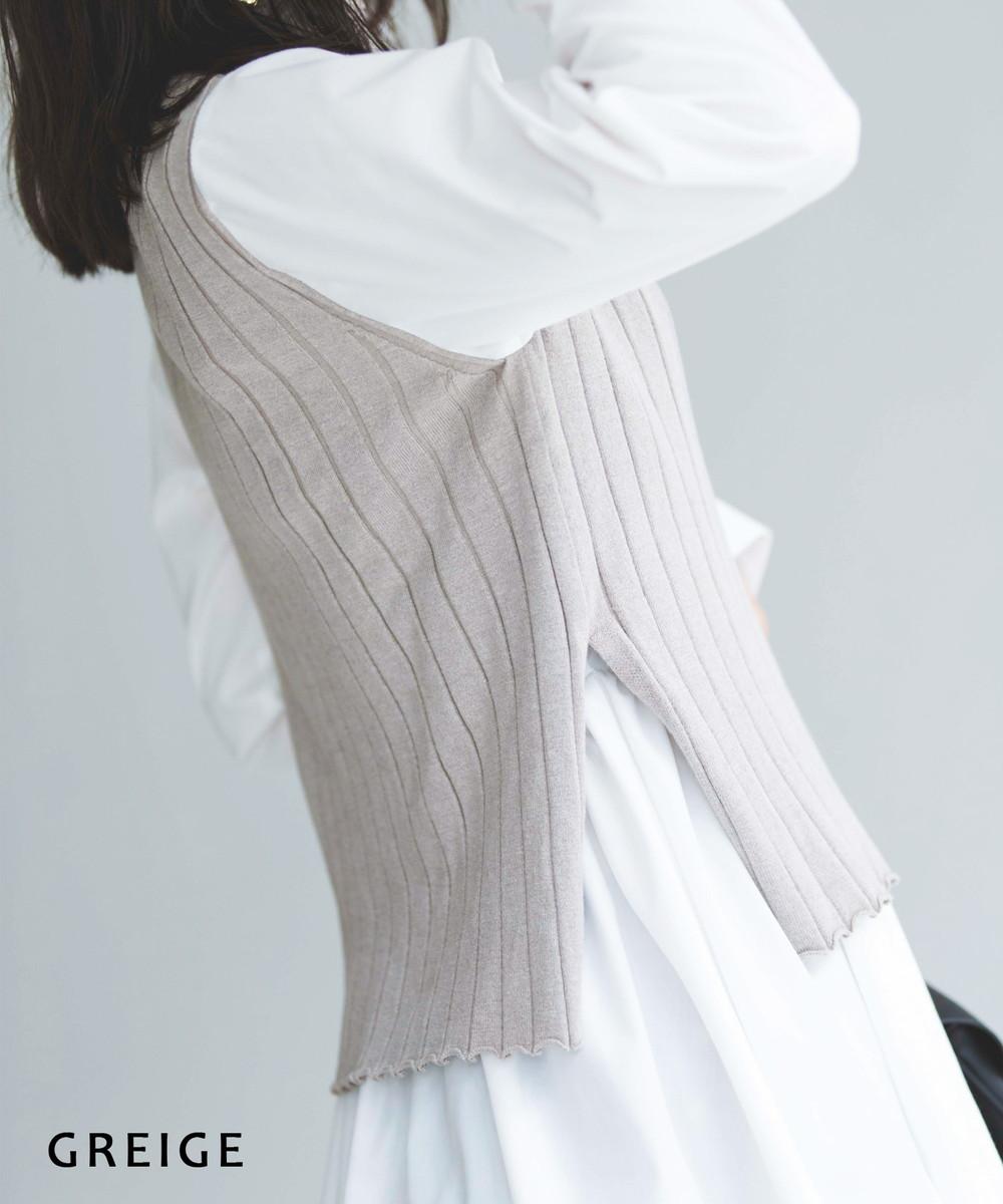 レイヤード風トップス【宅配便】【BO2020AW】