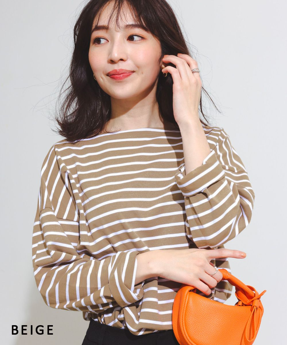 ボーダーTシャツ【宅配便】【BO2020AW】