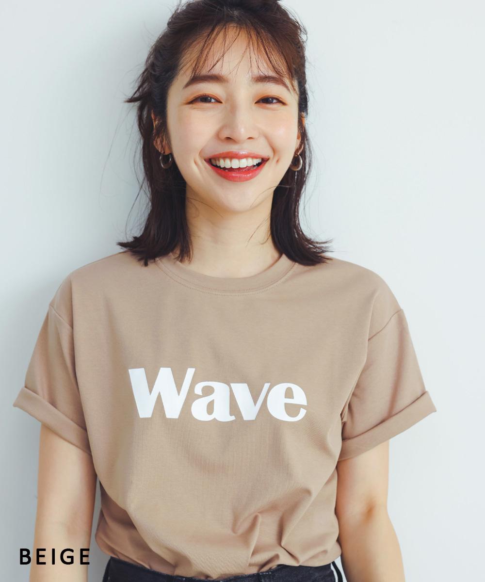 WAVE Tシャツ【ネコポス便可】【BO2021SS】
