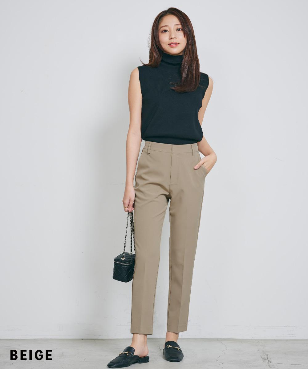 【全5サイズ】テーパードパンツ【宅配便】【BO2021SS】