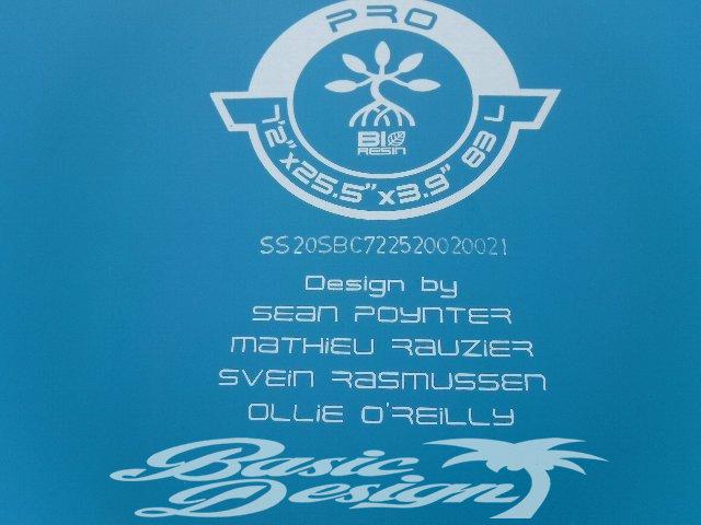 """2020 スターボード プロ ブルー カーボン STARBOARD SUP PRO BLUE CARBON 7'2""""x25.5"""" (中古/USUP-149)"""