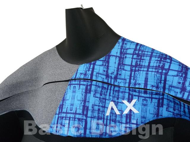 2017-18 アックス ロングチェストジップ AXXE LONG CHEST ZIP HUMID オリジナル仕様 (new/送料無料)