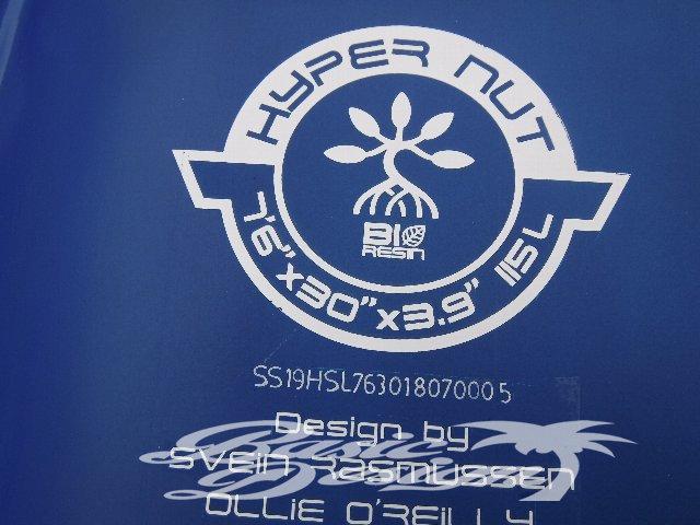"""2019スターボード ハイパーナッツ STARBOARD SUP HYPER NUT 7'6""""x30""""x115Lb (中古/USUP-125)"""