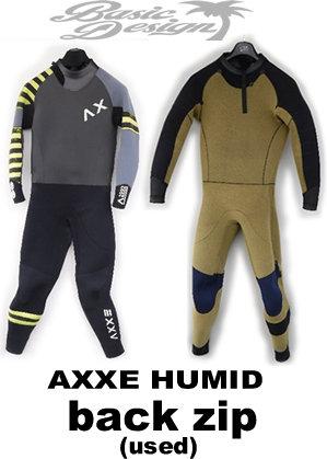 2015 アックス フューミッド バックジップ AXXE HUMID BACK ZIP  オリジナル仕様 サイズL(中古/WET-001)