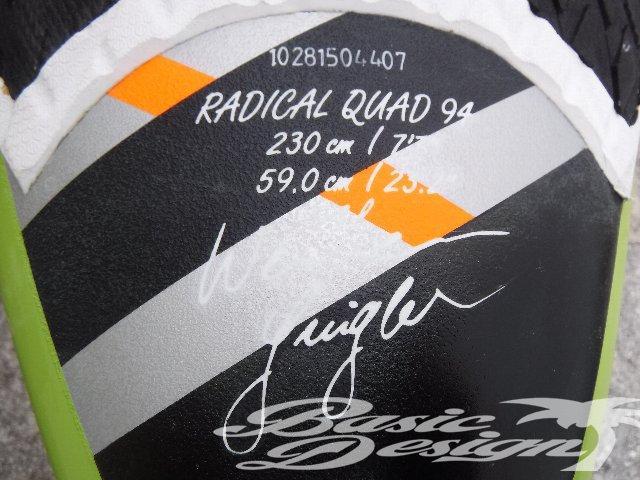 2015 ジェーピー ラディカル クアッド JP RADICAL QUAD PRO 94 (中古/UBW-210)