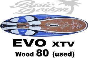2008 スターボード エボ STARBOARD EVO XTV 80 (中古/UBW-235)