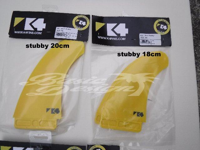 2021 ケィフォーフィン スタビー スロットボックス K4 FIN STUBBY DYNAMIC FLEX(DF/SlotBox)