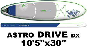 """2015 スターボード アストロドライブ ASTRO DRIVE DX 10'5"""" エアーSUP  (new/送料無料)"""