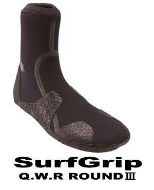 2016-17 サーフグリップ ブーツ SURF GRIP QWR BOOTIES-�ROUND TOE (new)