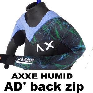 2016-17 アックス アドヴァンス AXXE ADVANCED BACK ZIP HUMID オリジナル仕様 サイズL(new/送料無料)