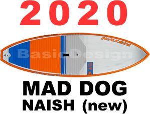 2020 ナッシュ マッドドッグ NAISH MAD DOG S-GLASS SANDWICH  (new/送料無料)