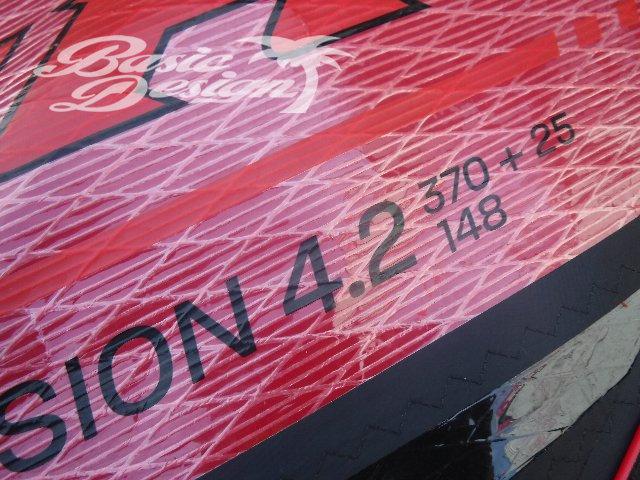 2011 ナッシュセイル セッション NAISH SESSION 4.2m2  (中古/USW-537)