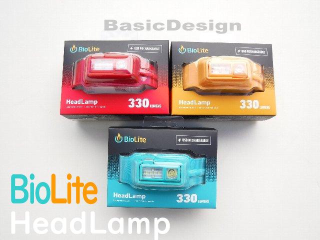 2019 バイオライト ヘッドランプ BioLite HeadLamp (品番#1824251)