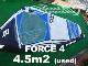 2019 ナッシュセイル フォース4 NAISH FORCE4 4.5m2  (中古/USW-526)