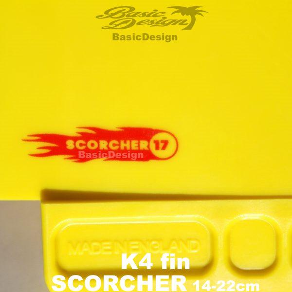 2021 ケィフォーフィン スコーチャー USボックス K4 FIN SCORCHER(new/Us Box)