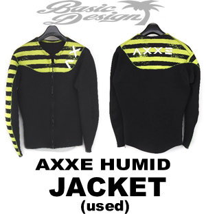 2015 アックス AXXE JACKET ローネックジャケット TZ オプション黄黒柄(中古/WET-003)