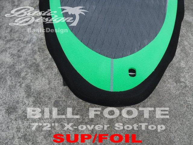 """2020 ビルフット フォイルボード BILL FOOTE 7'2"""" 2WAY X-over SoftTop (展示品/送料無料)"""