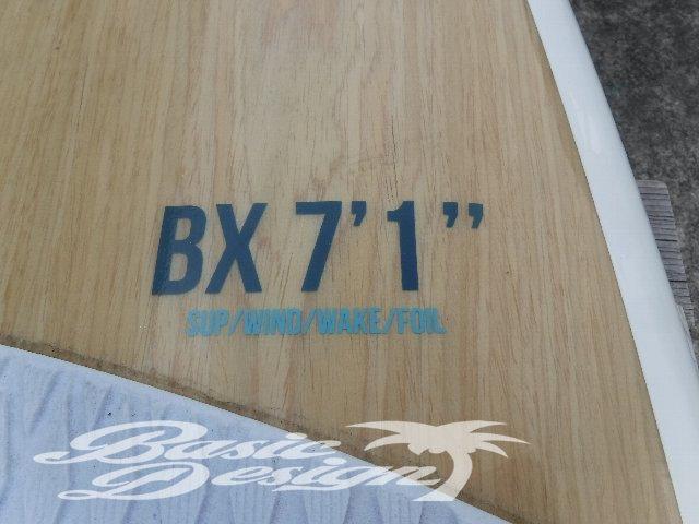 """2018 タクマ フォイルボード TAKUMA FOIL SURF 7'1""""x30""""(中古/UFOIL-007)"""