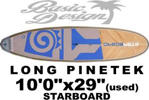 """2019 スターボード ロング パインテック STARBOARD LONGBOARD PINETEK 10'0""""x29""""x123L (中古/USUP-129)"""