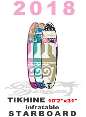 "2018 スターボード TIKHINE エアーSUP 10'2""x31""x4.75""  (new/送料無料)"