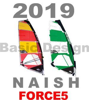 2019 ナッシュセイル フォース5 NAISHSAIL FORCE 5  (new/送料無料)