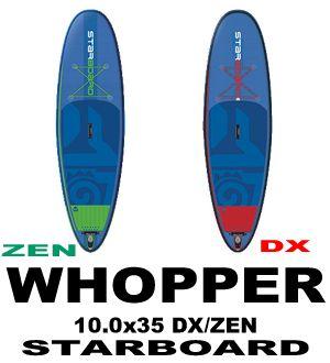 2017 スターボード ワッパーWHOPPER エアーSUP DX/ZEN  (展示品/送料無料)
