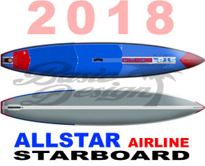 """2018 スターボード オールスター エアーライン ALLSTAR  AIRLINE 12'6""""/14' (new/送料無料)"""