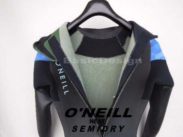 2019-20 オニール ヒート セミドライスーツ O'NEILL HEAT SEMIDRY (品番:XSF-3670)