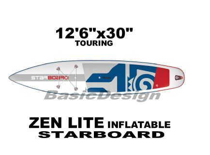 2019 スターボード ゼンライト STARBOARD ZENLITE 溶着インフレータブルSUP  (new/送料無料)