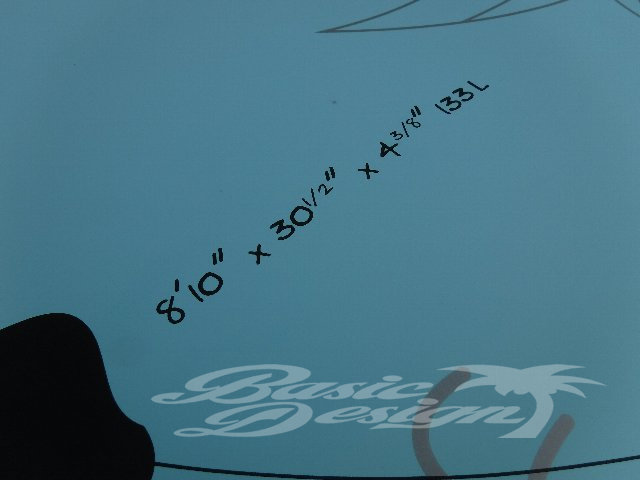 """2015 ナッシュ アラナ GS NAISH ALANA 8'10""""GS (中古/USUP-111)"""