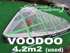 1999 ノースセイル ヴードー NORTH SAILVOODOO 4.2m2  (中古/USW-475)