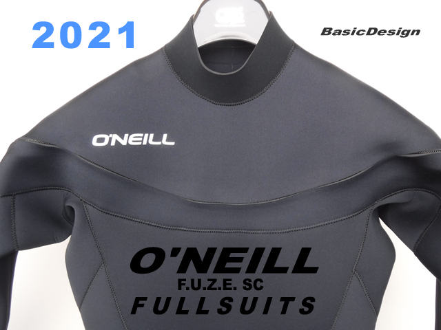 2021 オニール フューズ フルスーツ O'NEILL FUZE SC FULLSUIT  (品番:WF-8560)