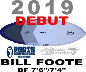 "2019-20 newカラー ビルフット BILL FOOTE BF 7'6""& 7'4"" (new/送料無料)"
