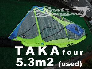 2018 イジーセイル タカ4 EZZY TAKA4  5.3m2  (中古/USW-534)