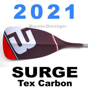 2021 ブラックプロジェクト サージ BLACK PROJECT SURGE  tex carbon slim カーボンスリムパドル (new/送料無料)