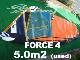 2020 ナッシュセイル フォース4 NAISH FORCE4 5.0m2  (中古/USW-532)