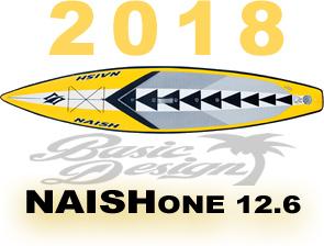 """2018 ナッシュワン エアーSUP NAISH ONE12'6"""" (new/送料無料)"""