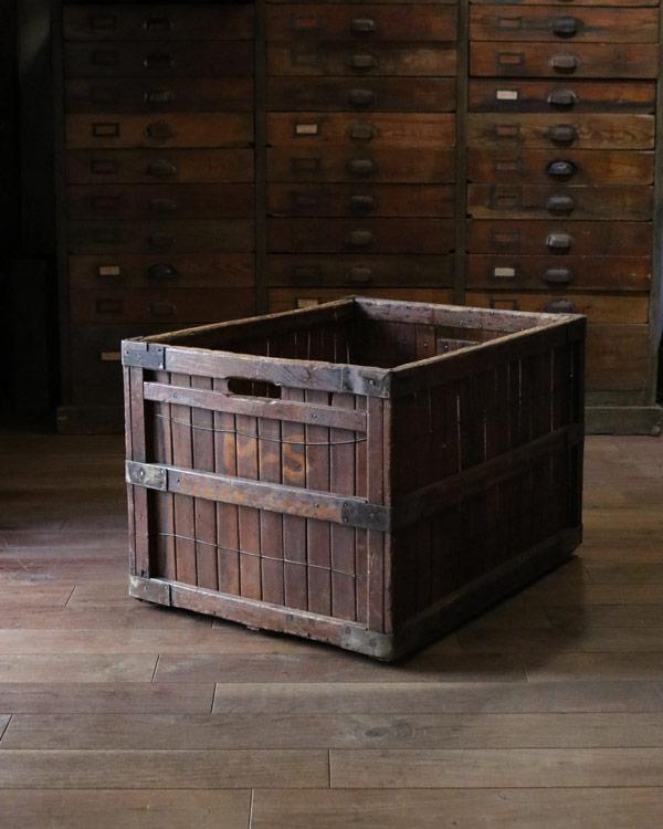 Laundry Wood Box|ランドリーウッドボックス