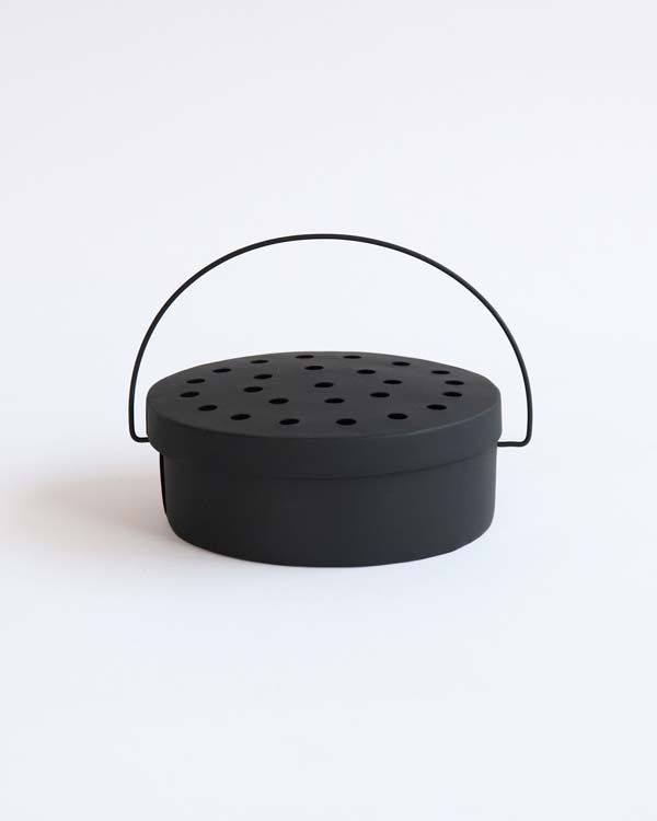 warang wayan ワランワヤン|蚊取り線香入れ 丸 ブラック
