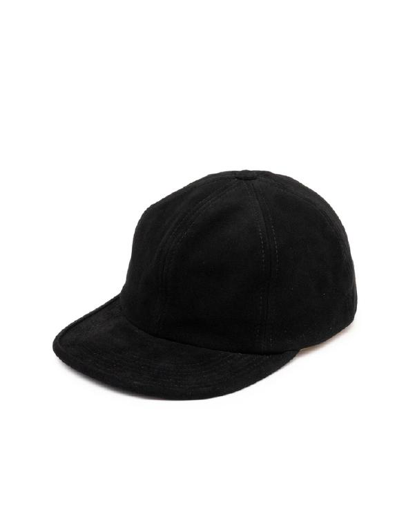 THE H.W.DOG & Co. ザ エイチダブリュー ドッグアンドコー SUEDE CAP スエードキャップ【BLACK】