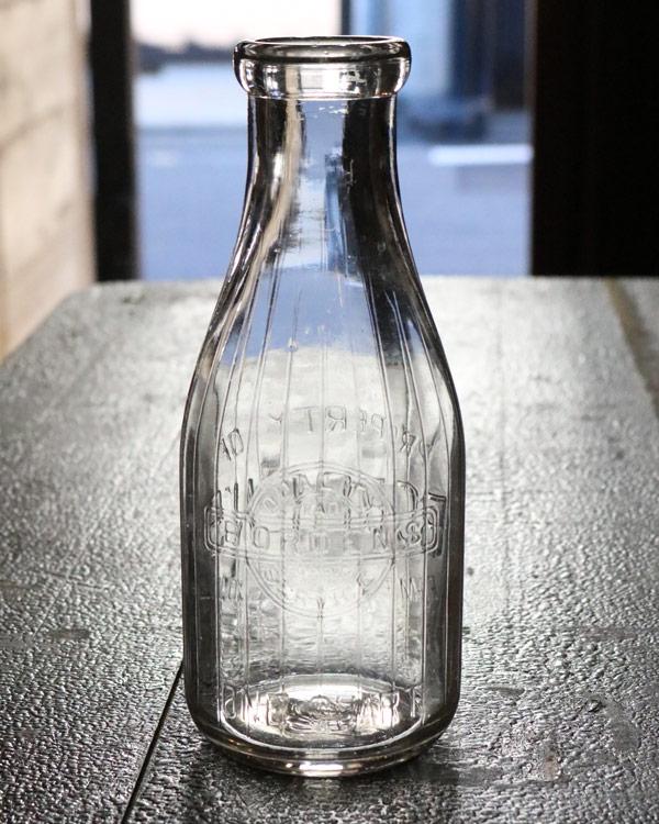 Glass Milk Bottle A|ガラスミルクボトル A
