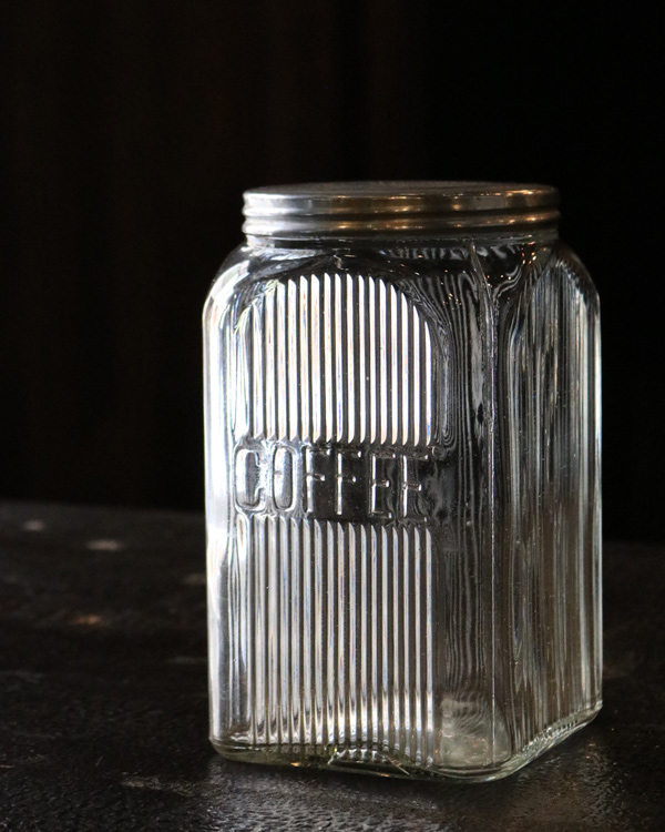 """COFFEE"" Glass Jar C