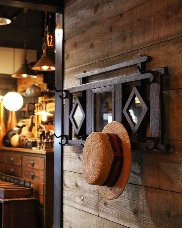 Wall Mirror & Hook|ウォール ミラー&フック