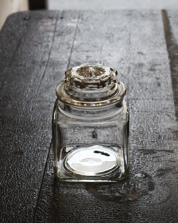 Glass Jar Lrg.|ガラスジャー L