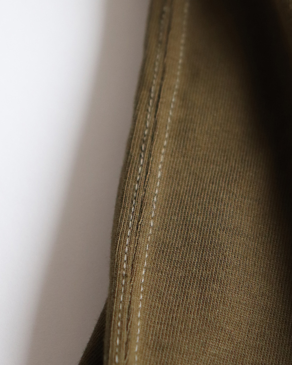 PHIGVEL フィグベル|VINTAGE ATHLETIC TOP ヴィンテージ アスレチック トップ【OLIVE】