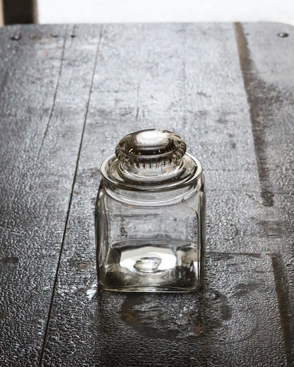 Glass Jar Med.|ガラスジャー M